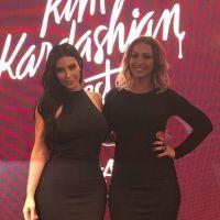 """Kim Kardashian e Valesca Popozuda posam juntas e funkeira elogia: """"Sou apaixonada em tudo nela!"""""""
