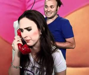 """Tatá Werneck em um dos seus antigos programa da MTV, """"Trolalá""""."""