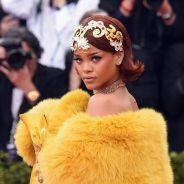 Rihanna estampa capa da Vogue com vestido que virou meme no MET Gala
