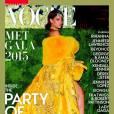 Rihanna publicou a imagem da capa da Vogue e agradeceu pela homenagem