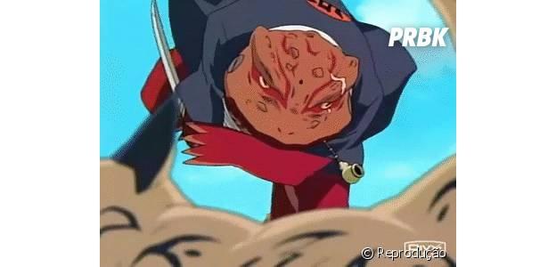 Não foi fácil para Naruto derrotar o ninja da vila da areia, Gaara