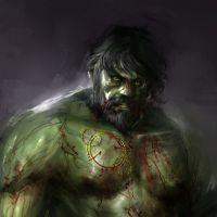 """De """"Os Vingadores"""": Hulk e outros personagens do filme ganham versão sombria criada por artista"""