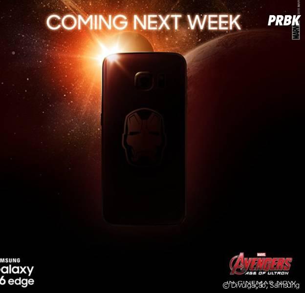 """Samsung anuncia oficialmente edição do Galaxy S6 Edge inspirado no filme """"Os Vingadores"""""""