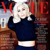 Kim Kardashian faz topless para ensaio ousado da Vogue Brasil: veja as fotos!