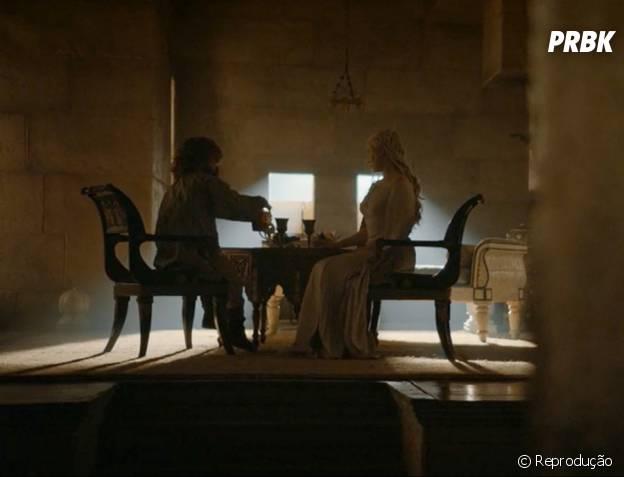 "Tyrion (Peter Dinklage) e Daenerys (Emilia Clarke) se juntaram em ""Game of Thrones"""