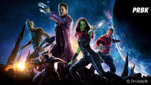"""""""Guardiões da Galáxia"""" é um dos filmes de maior sucesso da Marvel!"""