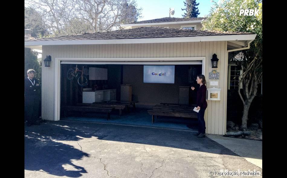 Garagem onde o Google começou.