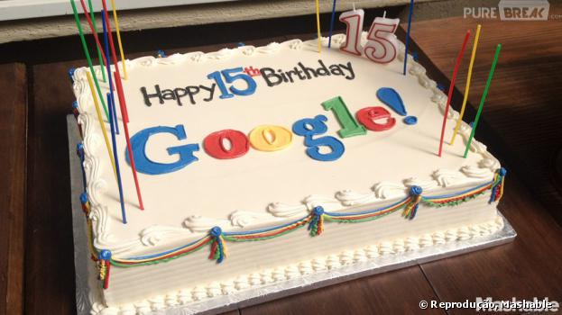 Feliz aniversário, Google! Gigante das buscas completa 15 anos com direito à bolo e tudo