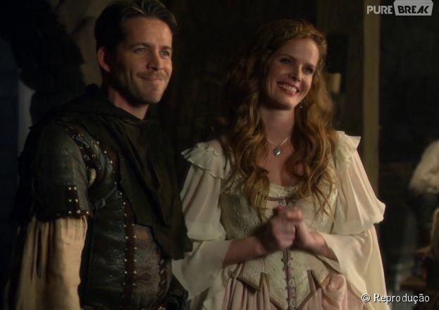 """Em """"Once Upon a Time"""", Robin Hood (Sean Maguire) e Zelena (Rebecca Mader) se tornam personagens regulares!"""