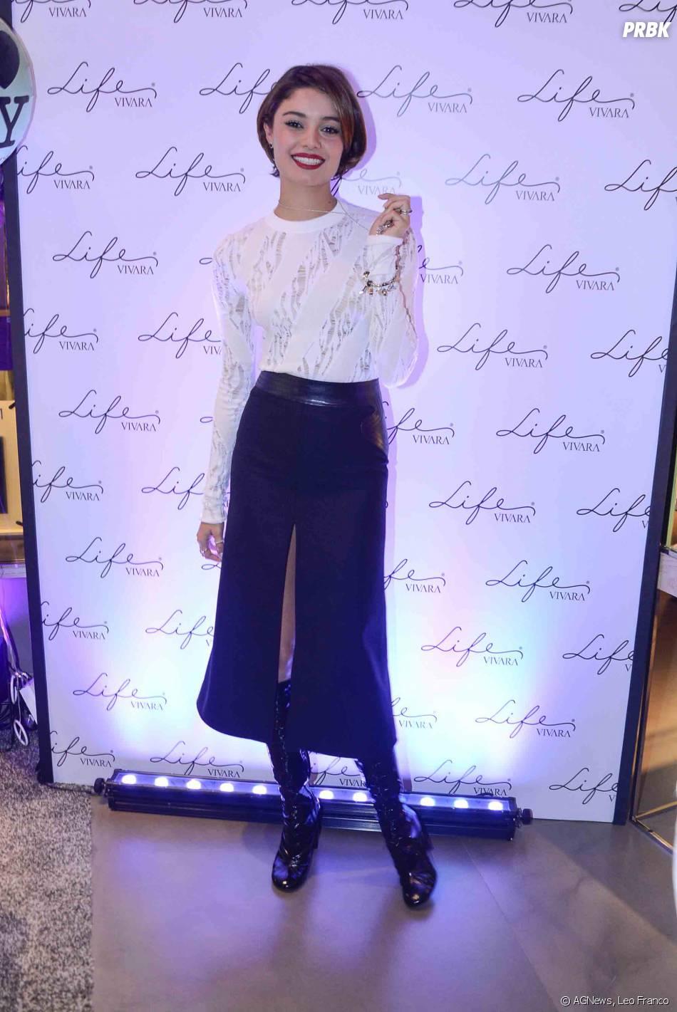 Sophie Charlotte comentou sobre sua vida pessoal durantelançamento de nova linha de joias, em São Paulo