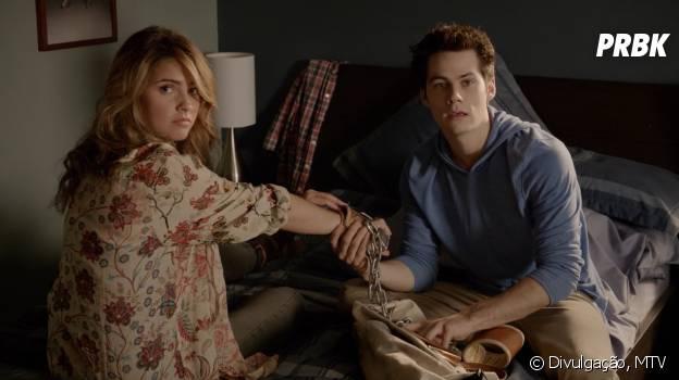 """Malia (Shelley Hennig) e Stiles (Dylan O'Brien) vão continuar juntos em """"Teen Wolf"""""""