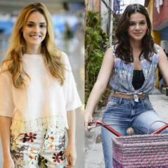 """Novela """"Sete Vidas"""" com Isabelle Drummond ou """"I Love Paraisópolis"""" com Bruna Marquezine? Vote!"""