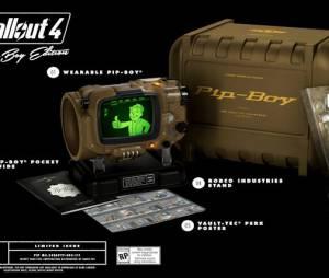 """Edição de colecionador de """"Fallout 4"""" vai incluir um Pipe-Boy de verdade para os fãs"""