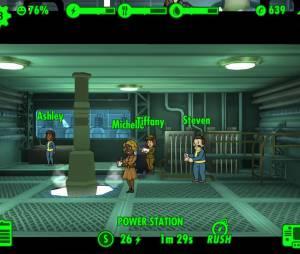 """Imagem da tela de """"Fallout Shelter"""": uma versão inspirada na franquia e disponível gratuitamente para celulares"""