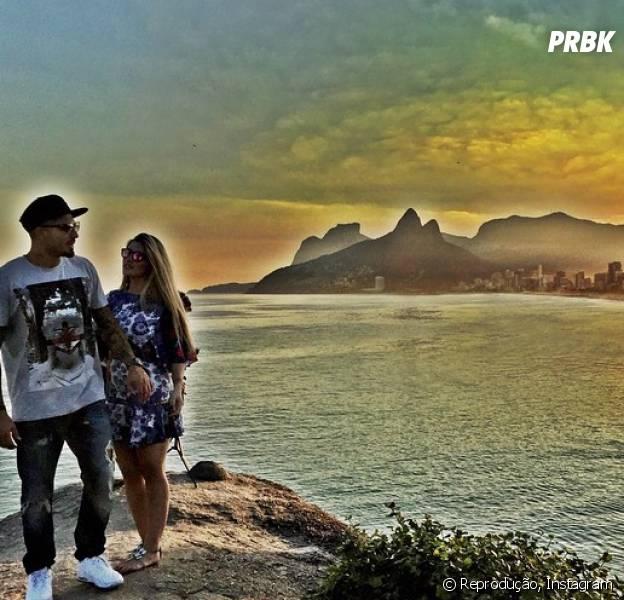 """Fernando e Aline, do """"BBB15"""", mostram sintonia em foto no Instagram"""