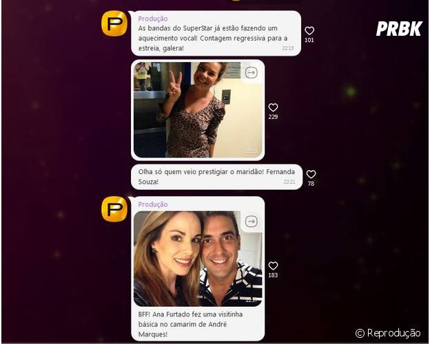 """O recurso de Grupos Abertos do Viber reúne fãs do programa """"SuperStar"""""""