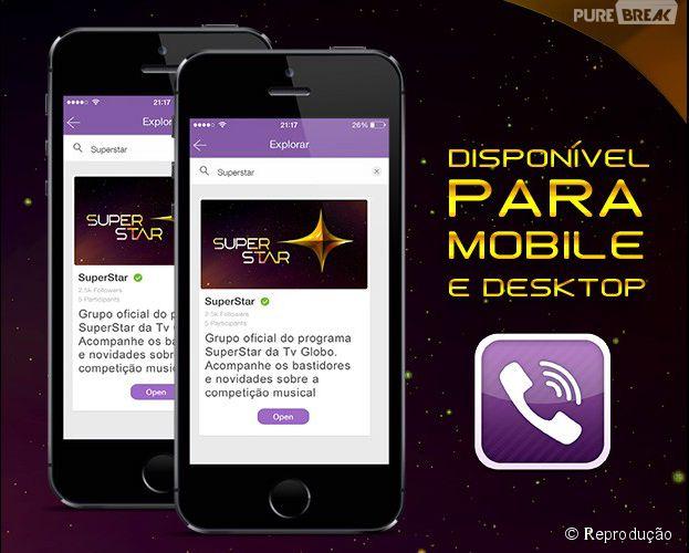 """Programa """"SuperStar"""" faz sucesso nos Grupos Abertos do Viber"""