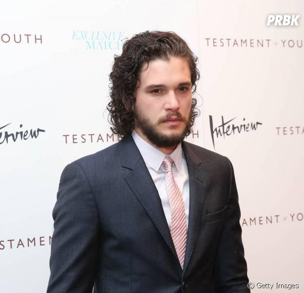 """Kit Harington, o Jon Snow de """"Game of Thrones"""", não vai no painel da série na Comic-Con 2015 dos EUA"""
