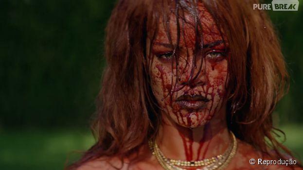 """Rihanna mata quem se meter em seu caminho no clipe de """"Bitch Better Have My Money""""!"""