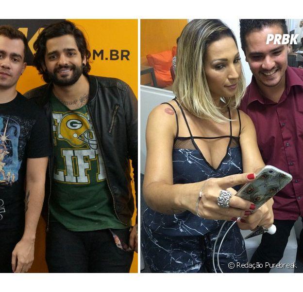 Lucas Silveira, da Fresno e Valesca Popozuda ao lado dos fãs no Meet & Break