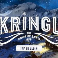 É Natal: Kringl, o aplicativo mágico que prova que Papai Noel existe