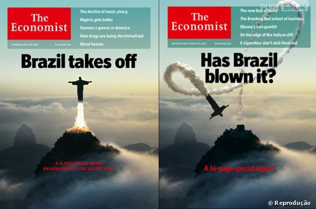 """Para a revista """"The Economist"""", Brasil não é mais uma grande potência economica mundial"""