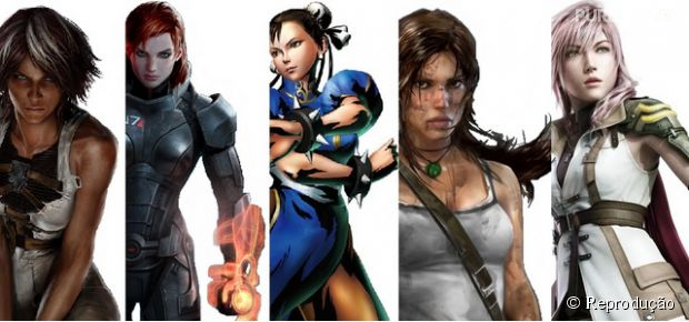 Os homens querem mais mulheres protagonistas nos games, sim