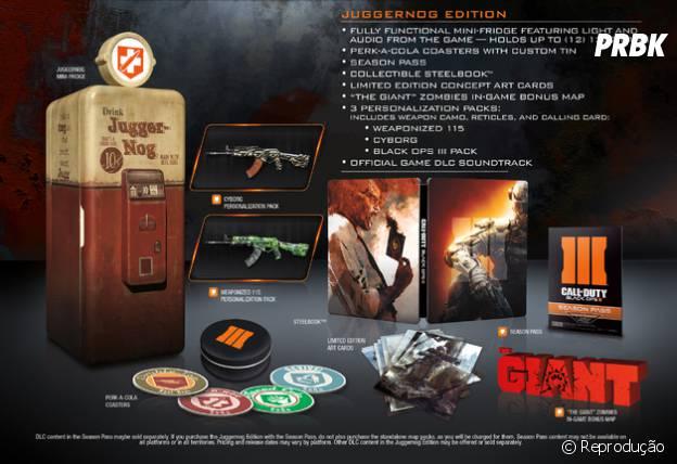 """Edição de colecionador de """"Call Of Duty: Black Ops III"""""""