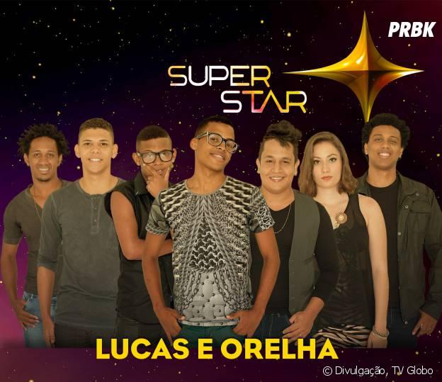 """A dupla Lucas e Orelha chegou a final do """"SuperStar"""""""
