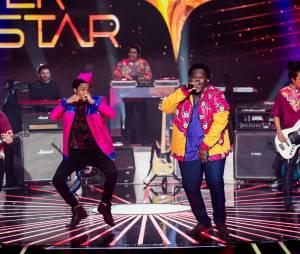 """A Dois Africanos é uma das bandas mais originais do """"SuperStar"""""""