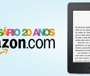 Amazon comemora seu aniversário de 20 anos com promoções