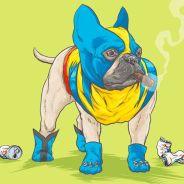 """""""Os Vingadores"""" e outros super-heróis ganharam versões em quatro patas: os Marvel Dogs!"""