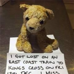 Menina encontra ursinho perdido graças a campanha no Twitter e Facebook