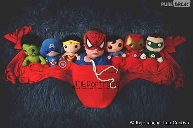 Com uma liga de super-heróis dessa, nenhum vilão ia ter chance!