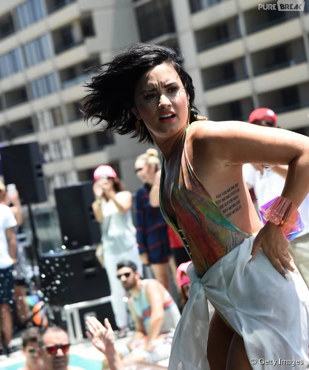 Demi Lovato amo o Brasil e se declara para os fãs do país