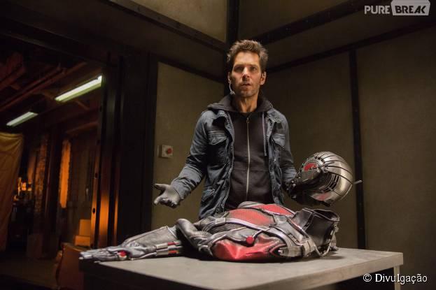 """""""Homem-Formiga"""" chegou aos cinemas na última quinta-feira (16)"""