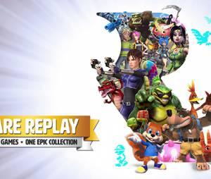 Trailer da coleção Rare Replay da Microsoft com 30 jgoos de Xbox 360 para Xbox One