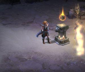 """Screenshot de """"Diablo 3"""", onde o """"Cubo de Kanai"""" aparece"""