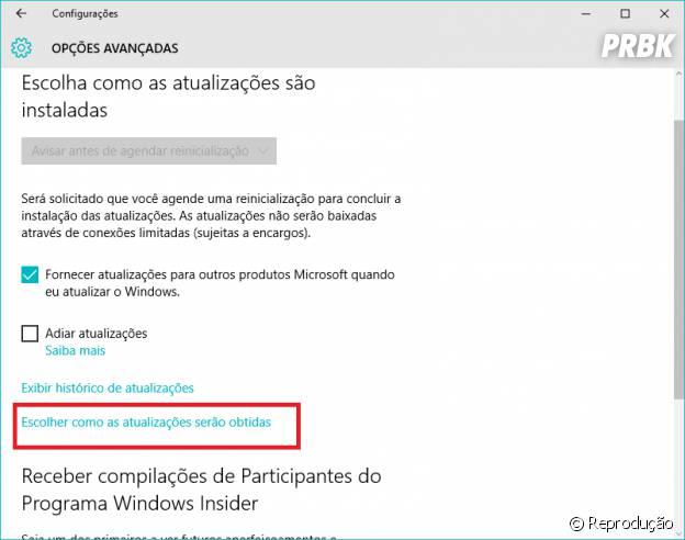 Entenda como desativar as atualizações automáticas do Windows 10