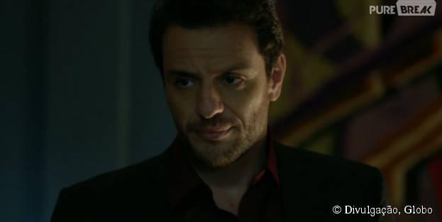 """Alex (Rodrigo Lombardi) ameaça empregada em """"Verdades Secretas"""""""