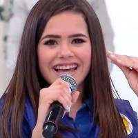 """Maisa Silva, de """"Carrossel - O Filme"""", canta """"NheNheNhem"""" na TV e revela zoação na escola"""