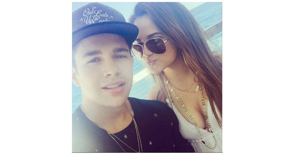 Is becky g dating austin mahone