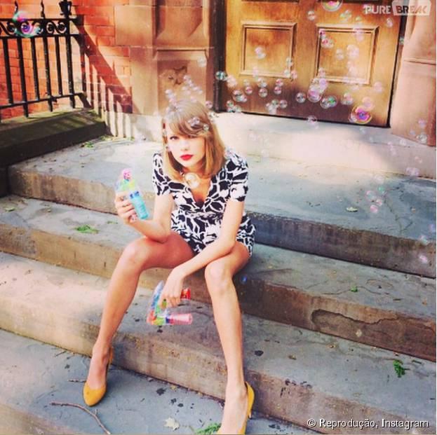 """Taylor Swift divulga prévia de """"Wildest Dreams"""" e conta que clipe será lançado no VMA 2015"""