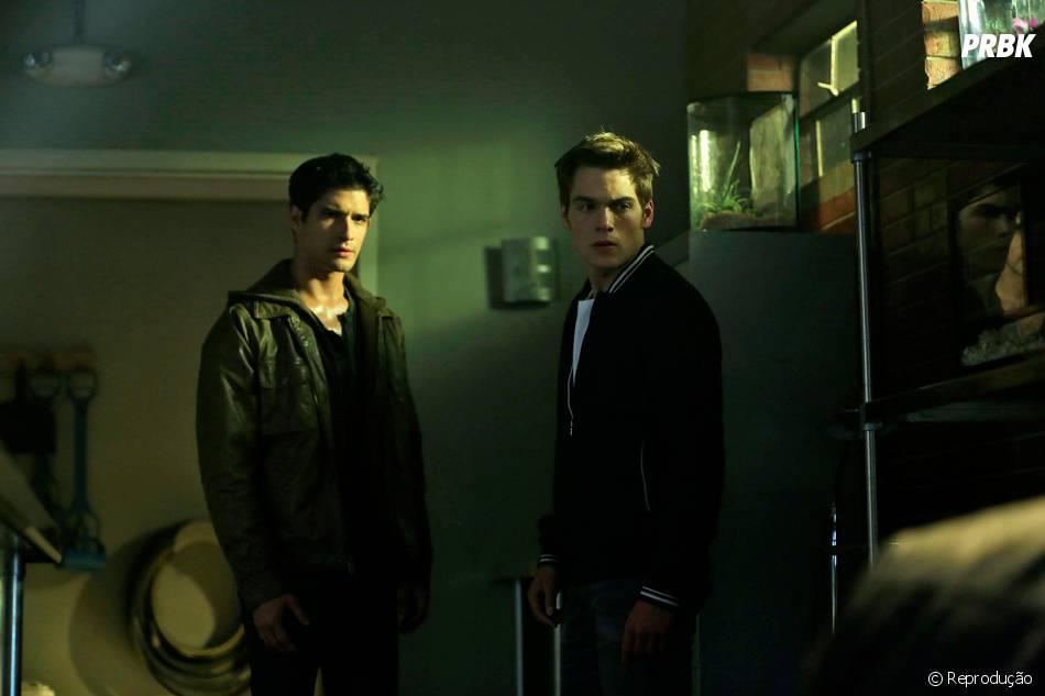 """Em """"Teen Wolf"""", Liam (Dylan Sprayberry) ficou contra Scott (Tyler Posey) e quase o matou"""