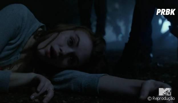 "Lydia (Holland Roden) ficou catatônica em ""Teen Wolf"""