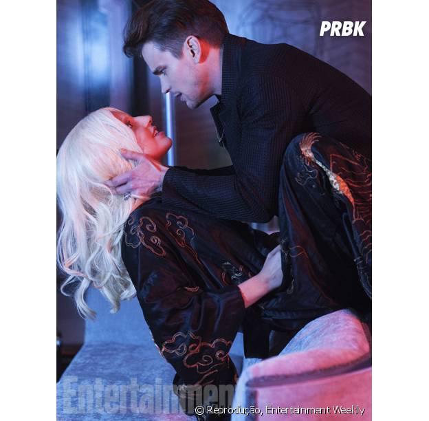 """Lady Gaga faz par romântico com Matt Bomer em """"American Horror Story: Hotel"""""""