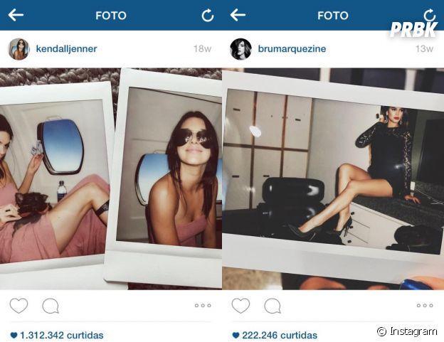 Bruna Marquezine copia Kendall Jenner? Veja estas coincidências e tire suas conclusões!