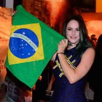 "De ""Maze Runner 2"": Kaya Scodelario se emociona e chora durante première do filme no Brasil"