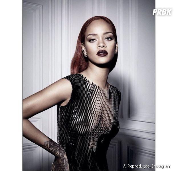 Rihanna divulgou quase todas as fotos de seu ensaio fotográfico para a Dior no Instagram!
