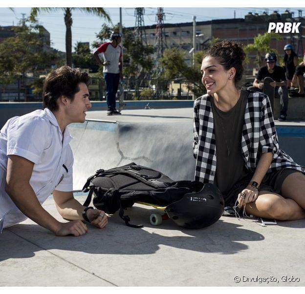 """Em """"Malhação"""": Nicolas Prattes e Julia Conrad falam de amizade entre Rodrigo e Ciça"""